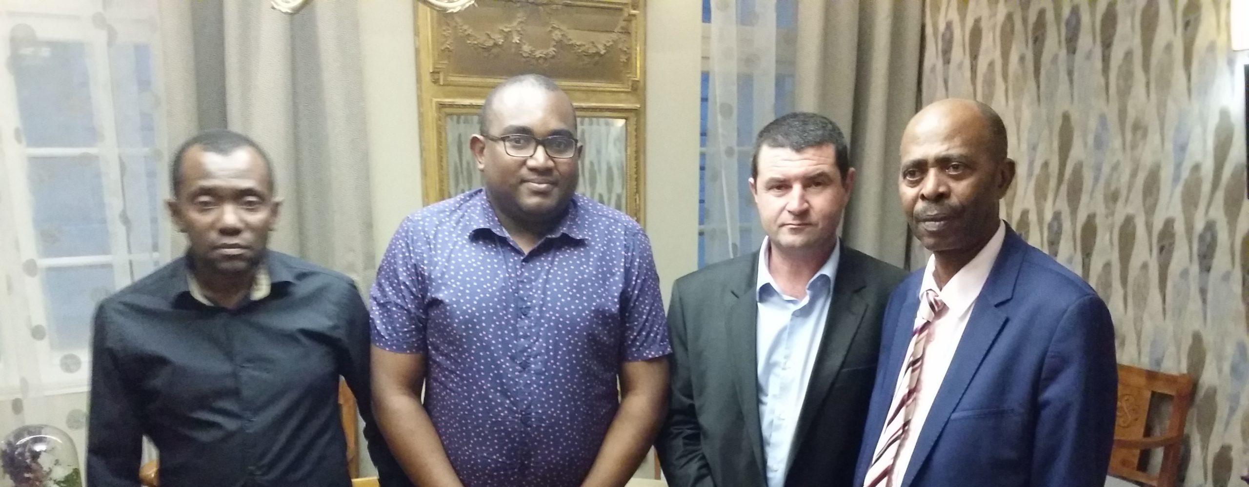 Rencontre avec Monsieur le Vice-Président de l'Union des Comores