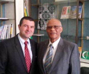 Visite à l'Ambassade des Comores à Paris