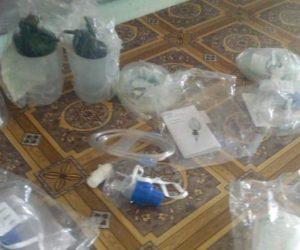 Collecte et distribution de matériel médical