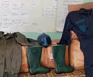 Dons de tenues Protection civile
