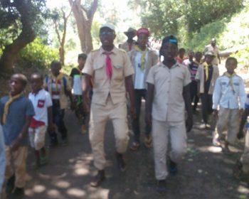 Des nouvelles des scouts Saint Antoine de Miringoni