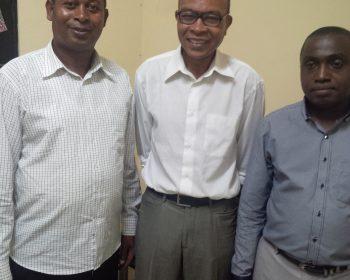 Rencontre avec La Commissaire de santé et le personnel de l'Hôpital Fomboni