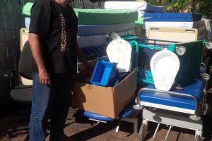 Collecte de matériels pour Moheli depuis la Réunion